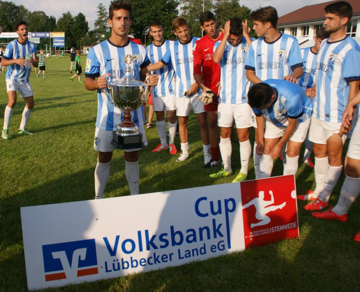 Pfingstturnier 2014, Sieger Málaga CF - Volksbank Lübbecker Land