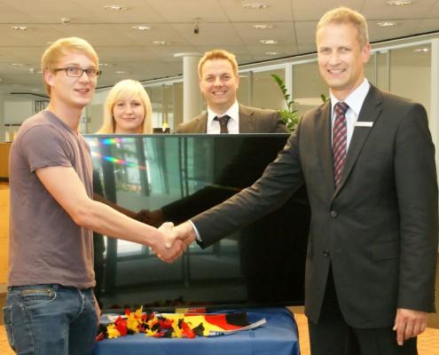 Mitgliedschaft - Gewinner der Volksbank Lübbecker Land