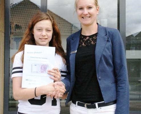 Gewinnsparen: Gewinnerin in Dielingen - Volksbank Lübbecker Land
