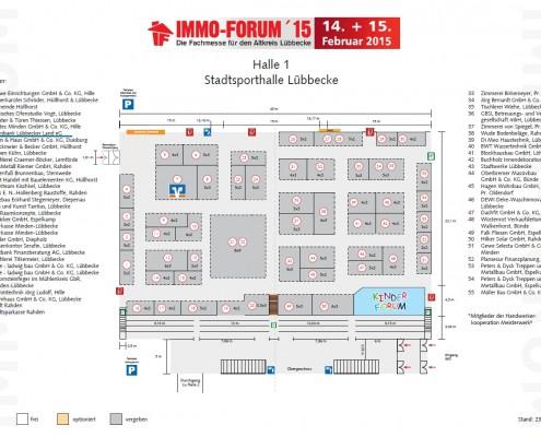 Immo-Forum 2015_Lageplan_Volksbank Lübbecker Land