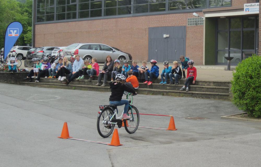 Fahrradturniere 2016 Parcours VBLL