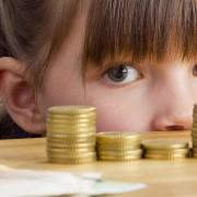 Taschengeld Geldtürme Volksbank Lübbecker Land