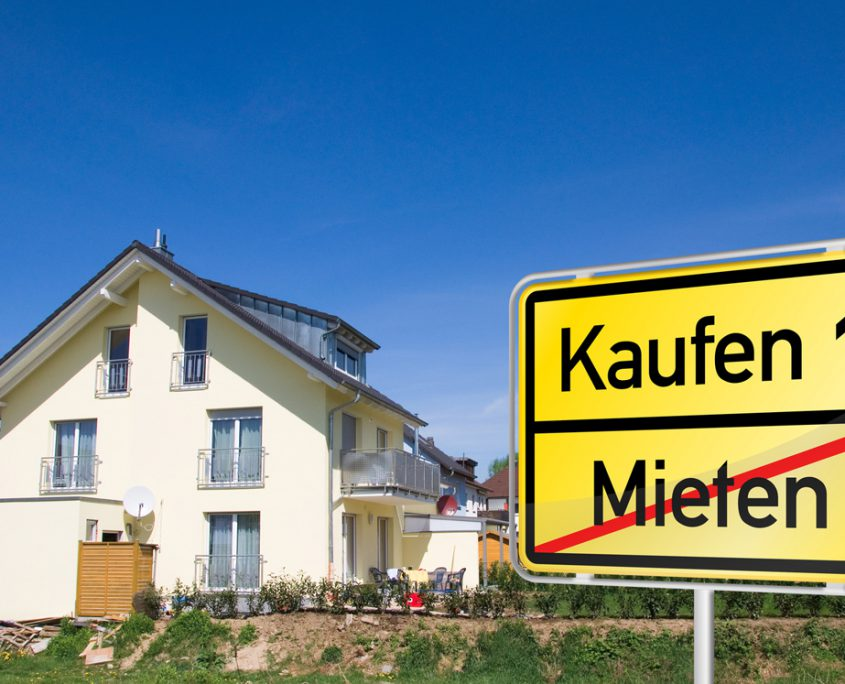 Immobilienverkäufer Wohngebiet Volksbank Lübbecker Land