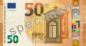 50-Euro-Schein Volksbank Lübbecker Land Falschgeld
