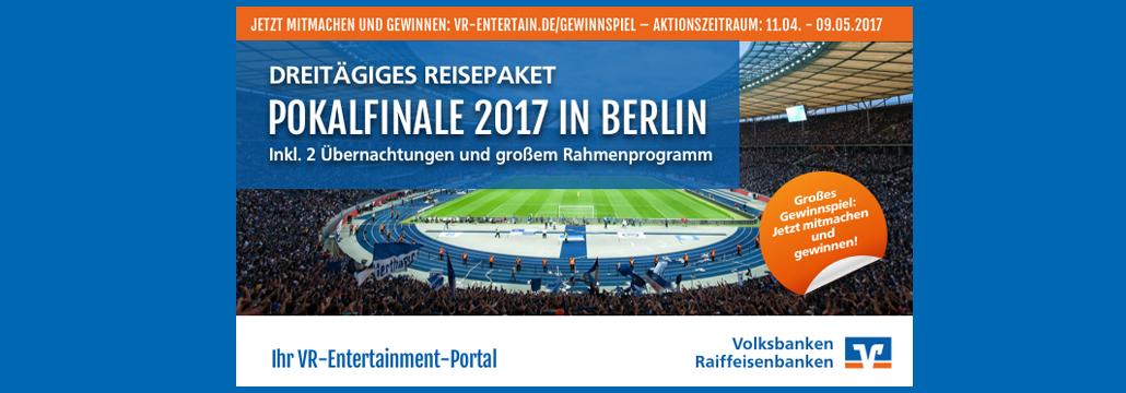 Vr Entertain Ab Zum Dfb Pokalfinale Volksbank Lübbecker Land