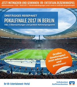 VR-Entertain Volksbank Lübbecker Land Pokalfinale 2017
