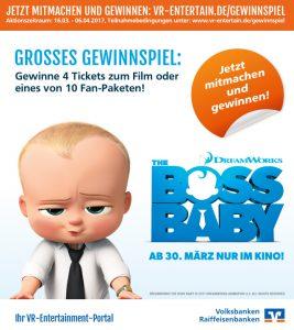 VR-Entertain Volksbank Lübbecker Land The Boss Baby
