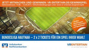 Anpfiff VR-Entertain Volksbank Lübbecker Land