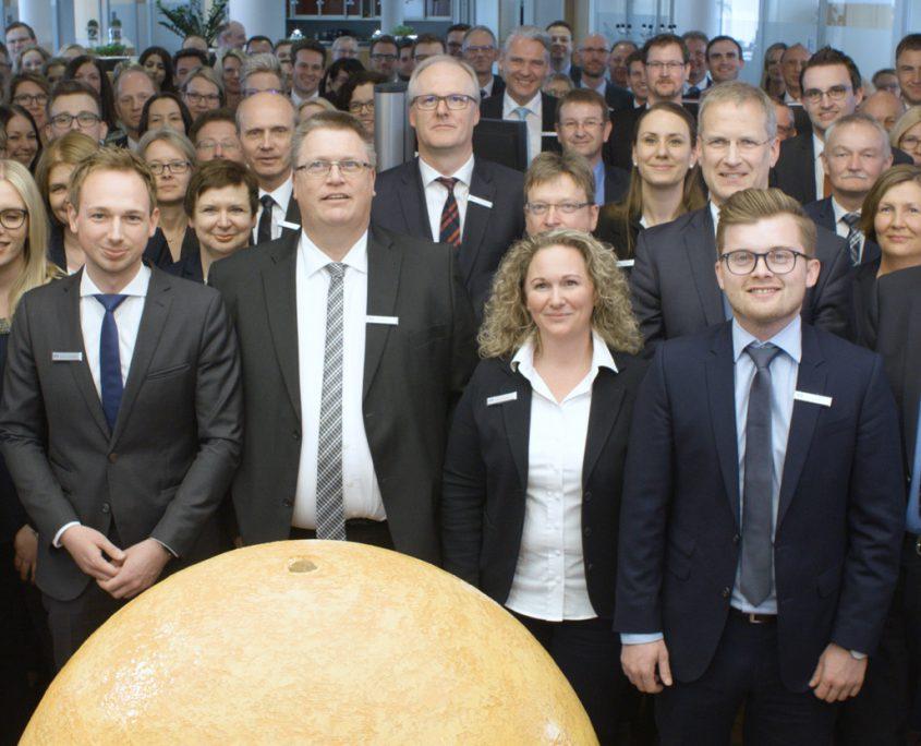 Wahltag 2017 Volksbank Lübbecker Land