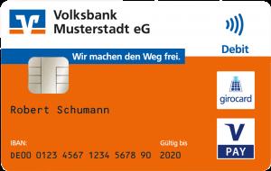 Volksbank Lübbecker Land BankCard 2017 kontaktlos