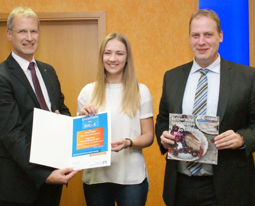 Fotowettbewerb 2017 Volksbank Lübbecker Land Gewinnerin