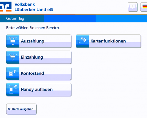Wunsch-PIN Volksbank Lübbecker Land 2018