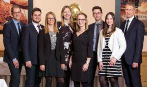 Azubis Volksbank Lübbecker Land Abschlussprüfung 2018