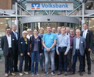 Mitglieder Austauschrunde Rahden Volksbank Lübbecker Land 2017