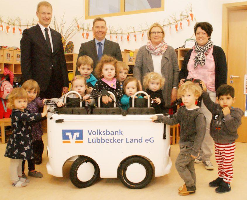 Krippenbus Lemförde Volksbank Lübbecker Land 2018