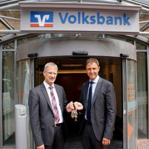 Volksbank Lübbecker Land Geschäftsstellenumbau Rahden 2018