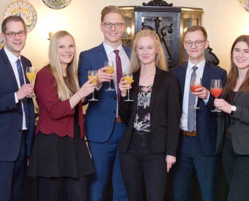 Ausbildungsende 2019 Volksbank Lübbecker Land