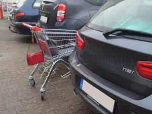Supermarktparkplatz Volksbank Lübbecker Land 2019