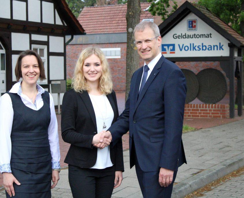 Stabwechsel Haldem Volksbank Lübbecker Land 2019