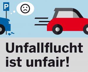 Unfallflucht unfair Volksbank Lübbecker Land 2020