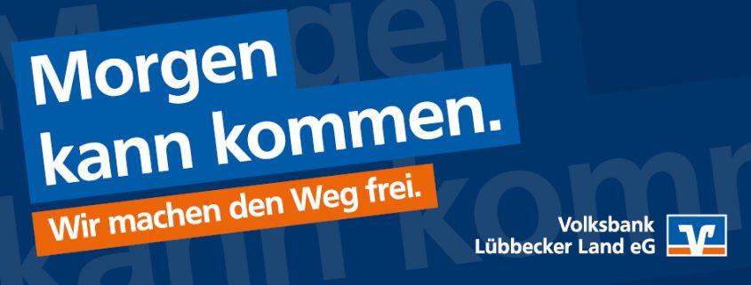 Volksbank Lübbecker Land Werbekampagne 2020