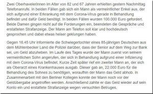 Volksbank Lübbecker Land 2020 Phishingmethode