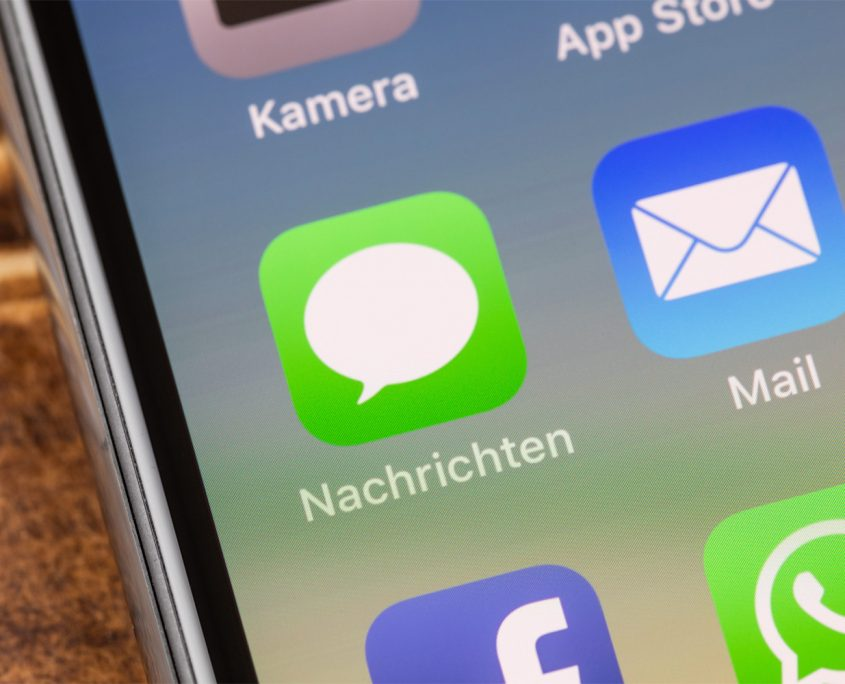 SMS Phishing Volksbank Lübbecker Land 2020