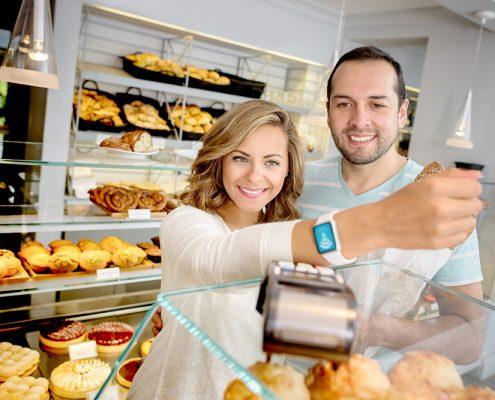 Volksbank Lübbecker Land Smartwatch Smartphone