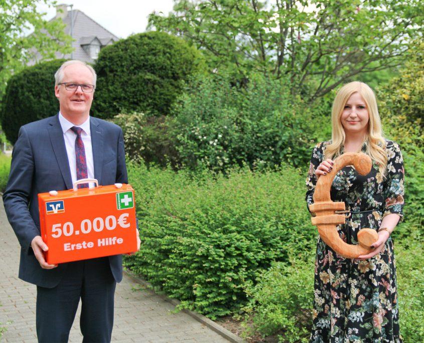 Volksbank Lübbecker Land Aktion Trostpflaster 2020