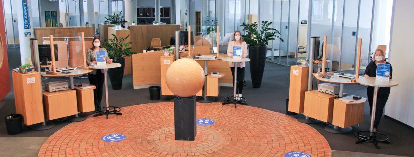 Wiedereröffnung Volksbank Lübbecker Land 2020