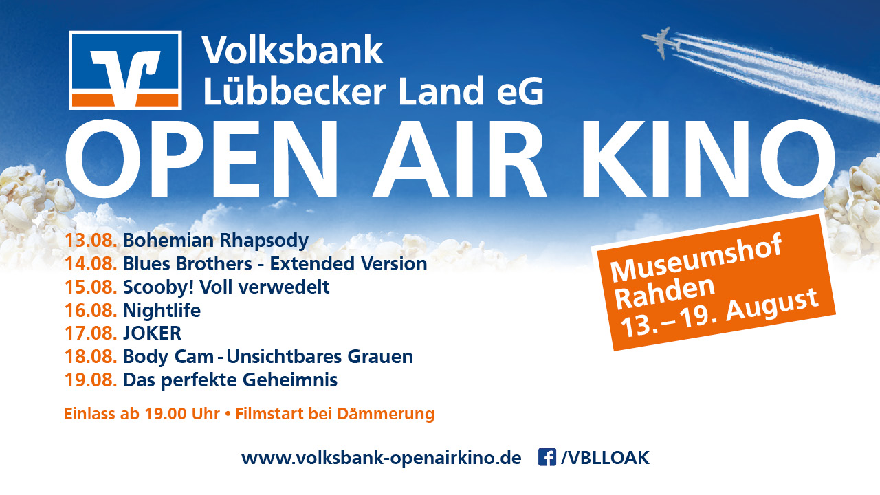 Volksbank Lübbecker Land Open-Air-Spaß 2020