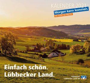 Volksbank Lübbecker Land Jahreskalender 2021