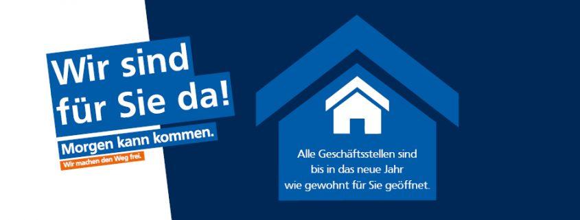Volksbank Lübbecker Land Geschäftsstellen 2020
