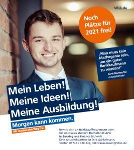 Volksbank Lübbecker Land Ausbildungsplätze 2021