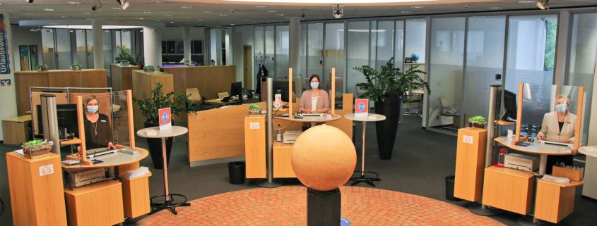 Volksbank Lübbecker Land Wiedereröffnung 2021